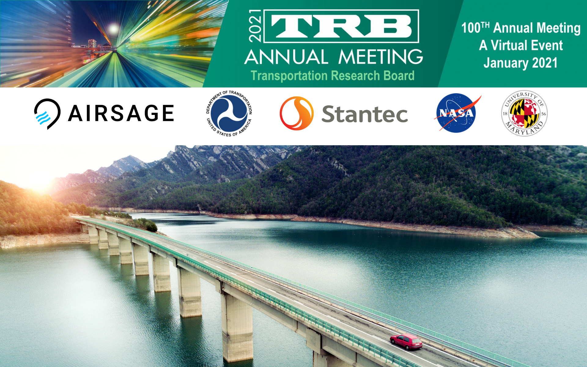 TRB goes digital: TOP 8 BOOTHS from the 100th Annual TRB Meeting 2021